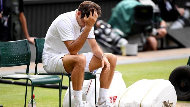"""Federer : """"Je ne sais pas si c'est mieux de perdre 6-2, 6-2, 6-2… """""""