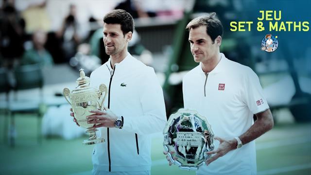 A Djokovic les stats qui marquent, à Federer celles qui tuent