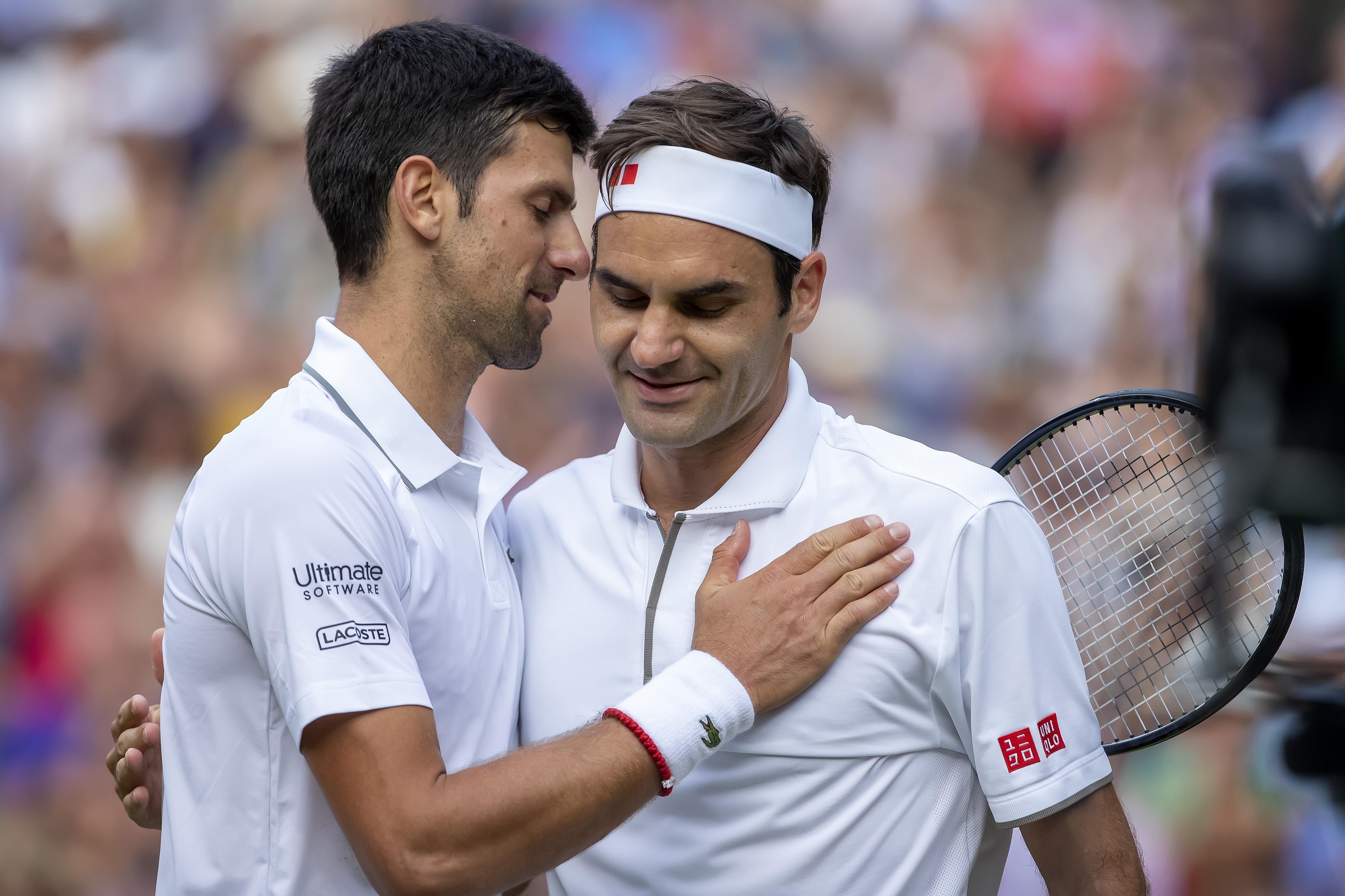 Novak Djokovic & Roger Federer (2019 Wimbledon)