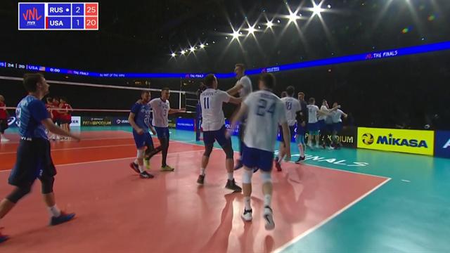 La Russia batte 3-1 gli USA e si prende il trono della Nations League: gli highlights della finale