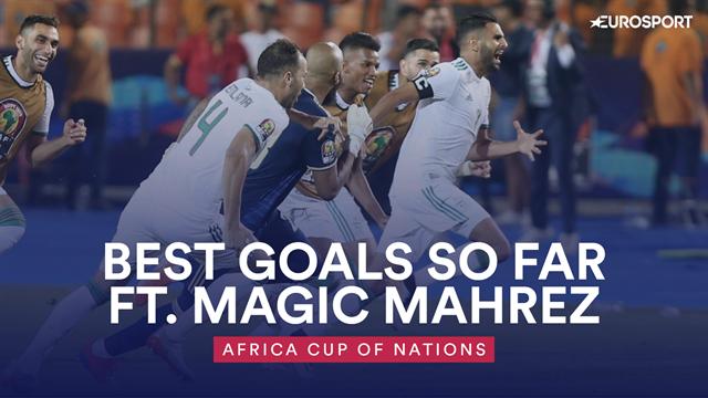 AFCON 2019: Best goals so far - Salah v Mahrez and more