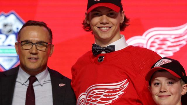 Seider unterschreibt Einstiegsvertrag bei NHL-Klub Detroit