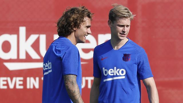 Griezmann, De Jong, Neto... El nuevo Barça se pone en marcha mirando de reojo a Neymar en París