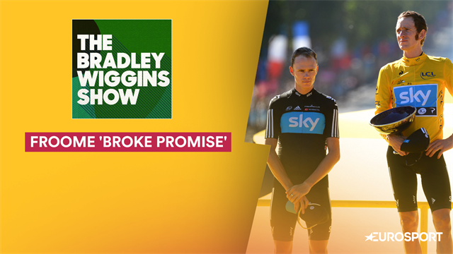 Froome 'broke his promise' in 2012 Tour de France