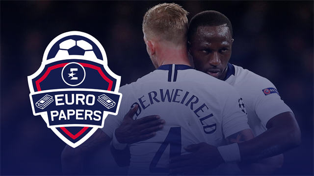 Euro Papers: Poch could swap Alderweireld or Sissoko for Roma star