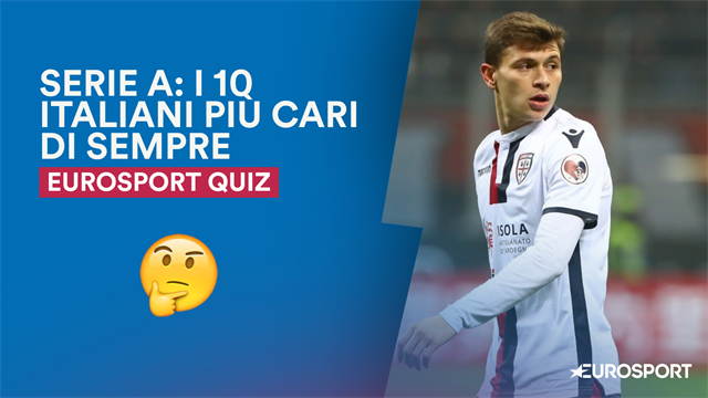 QUIZ - In attesa di Barella, quali sono i 10 italiani più cari della storia della Serie A?