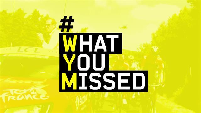 What you missed, tappa 10: Behrane, Colbrelli, ventagli e Van Aert