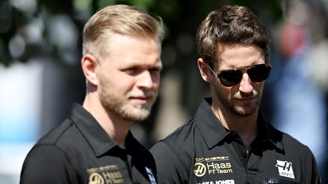 Grosjean et Magnussen, une association qui va loin mais pas très vite…