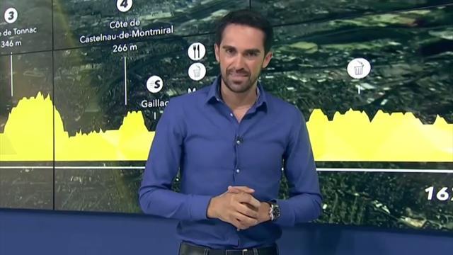 La predicción de Contador (11ª etapa): Jornada quebrada, sin alta montaña, pero con tensión