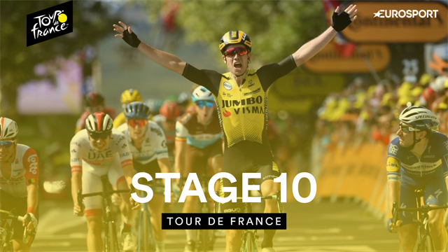 Highlights of Stage 10 as big names drop big time