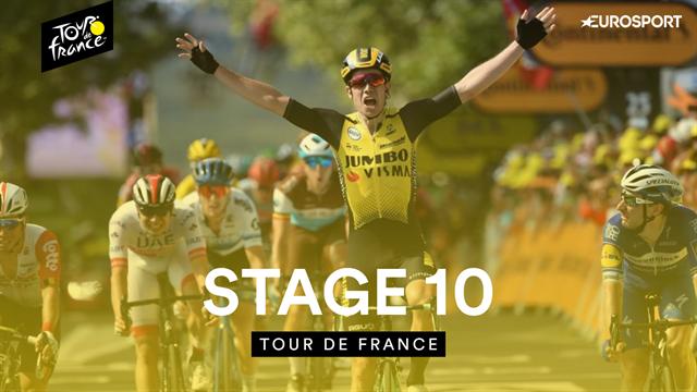 Tour de Francia 2019 (10ª Etapa), lo mejor del día: Alaphilippe destrozó la general tirando de clase