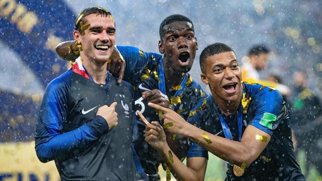Ровно год назад Франция и Хорватия сыграли в «Лужниках» волшебный финал ЧМ. Это было незабываемо