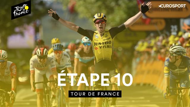 Pinot piégé, Ineos tranquille et Van Aert en vainqueur surprise : le résumé de la 10e étape