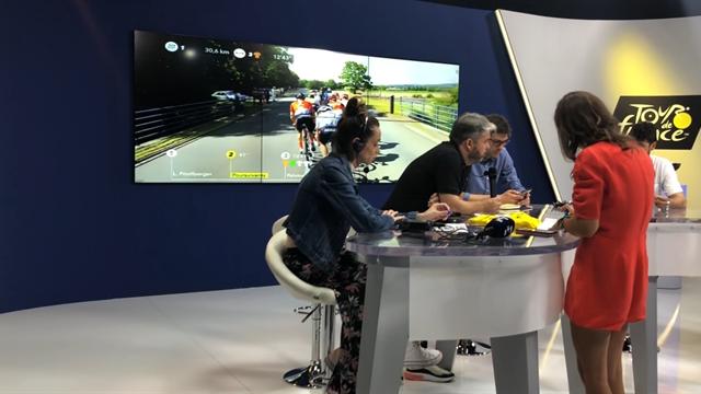 Tour de Francia 2019: Así se crea La Montonera en Eurosport