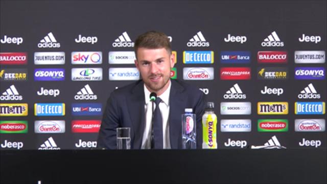 """Ramsey si presenta in italiano: """"La Juve è una delle più grandi al mondo"""""""