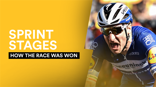How The Race Was Won: Sprint winners and losers so far