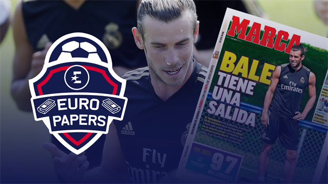 Euro Papers: Bale handed surprise escape route from Real