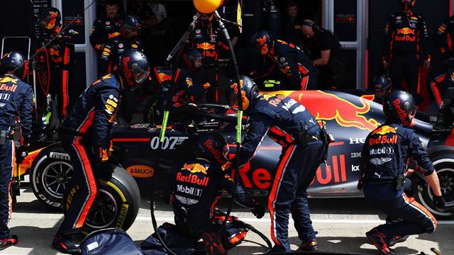 El brutal pit stop de Red Bull en Silverstone que podría ser el más rápido de la historia