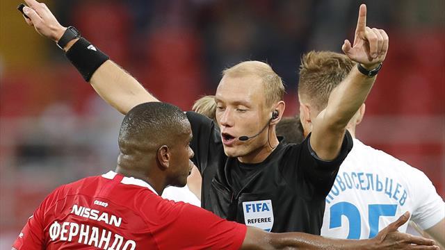 РФС: гол Жиго забит с нарушением, пенальти в ворота «Спартака» был, судья Москалев отстранен
