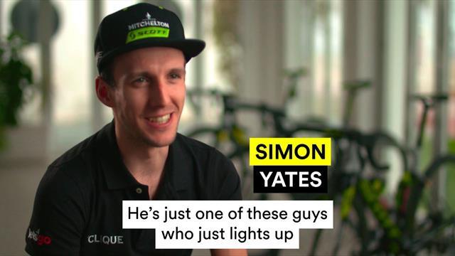 Quickfire questions: Funniest guy at Mitchelton-Scott?