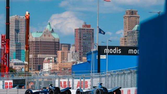 Formel-E-Finale in New York: Frijns erleichtert, Massa frustriert
