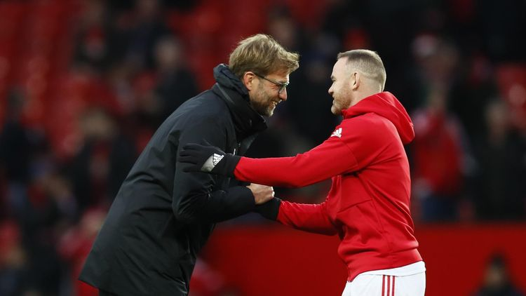Image result for Rooney and Klopp