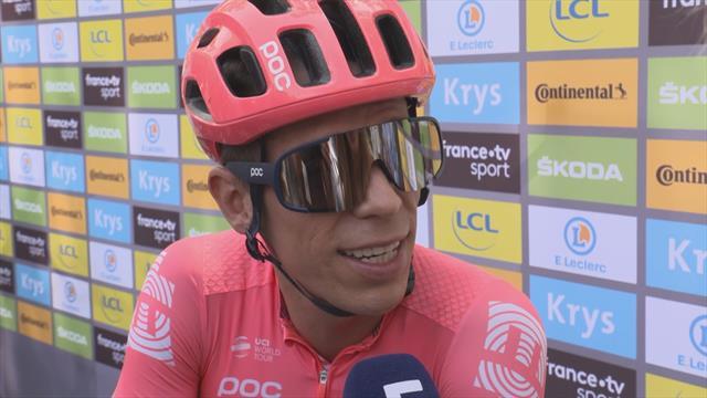"""Tour de Francia 2019, Urán: """"He perdido tiempo pero la carrera acaba en París"""""""