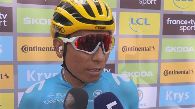 """Tour de Francia 2019, Quintana: """"Landa ha tenido mala suerte y no le ha permitido mostrar su nivel"""""""