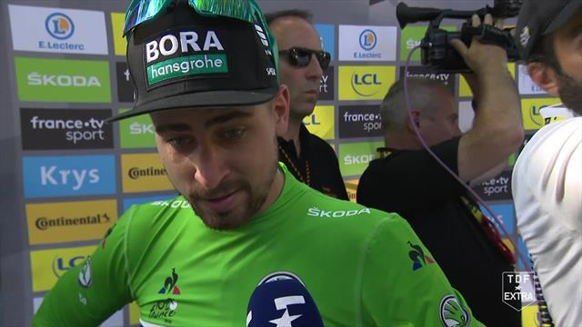 Sagan: The last roundabout was like a waching machine - it destroyed everything!