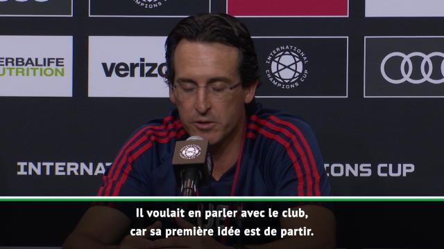Transferts - Emery confirme la priorité de Koscielny : ''Il veut quitter le club''