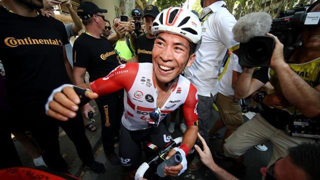 Ewan pips Groenewegen for maiden Tour win in Stage 11
