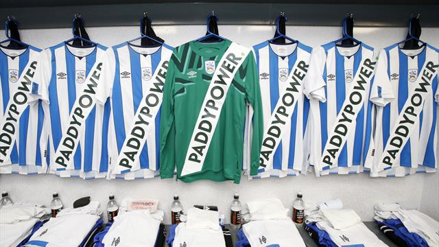 Huddersfield reveal their actual kit after sponsor hoax