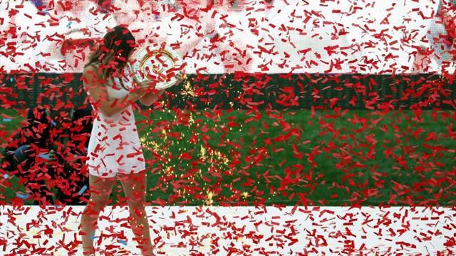 Halep celebra con miles de rumanos en Bucarest su primer título de Wimbledon