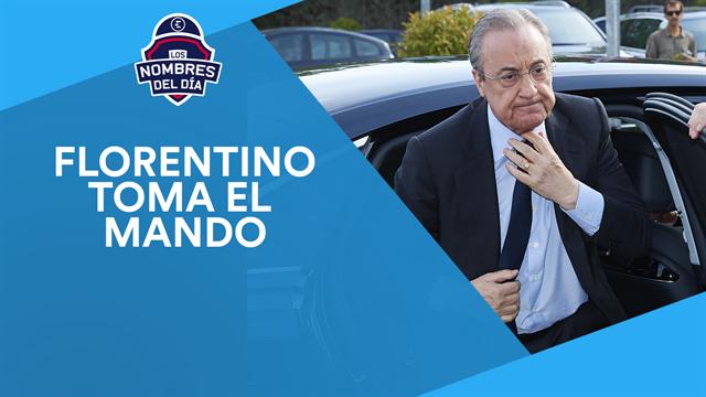 Florentino Pérez, James, Neymar y Guerreiro, los nombres del día