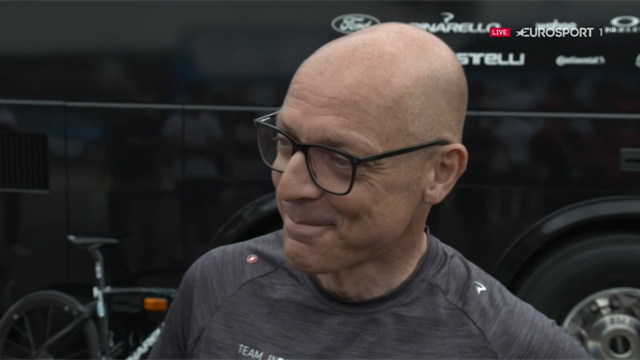 Brailsford: Froome is back on a bike, pedalling with one leg