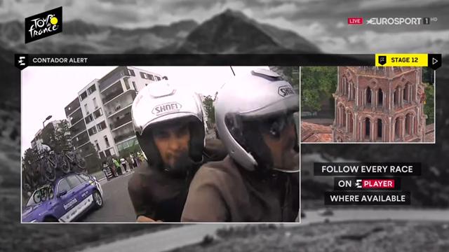 """Contador en el Tour: """"Creo que hoy Landa va a probarlo"""""""