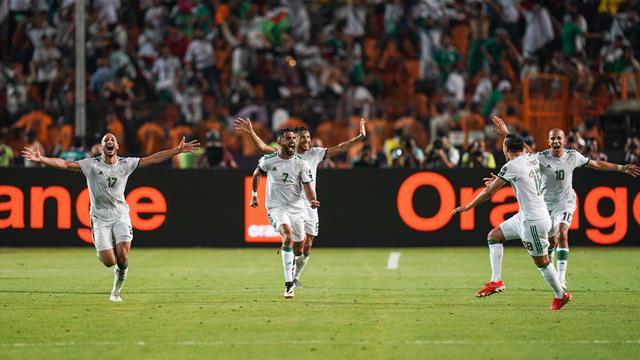 Algerien hofft nach 29 Jahren auf den Titel - Frankreich fürchtet Krawalle