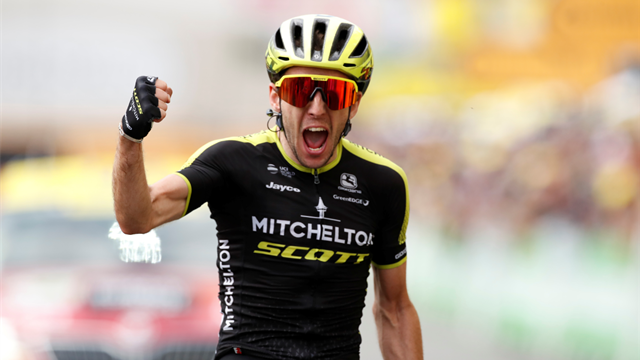 Simon Yates completes Grand Tour set with perfectly-timed charge