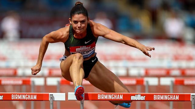 Nach Muskelverletzung: Hürdensprinterin Dutkiewicz verpasst WM in Doha