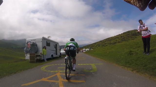 Tour de Francia2019: ¡Descenso a rueda de Sagan en primera persona! Posición bicho-bola y volando