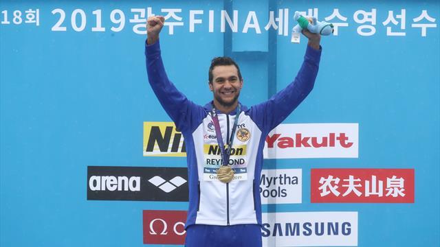 Reymond champion au finish, Grangeon en bronze