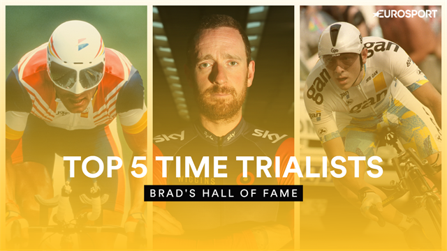 Brad's Hall of Fame - Wiggins names his top 5 Tour de France time trialists