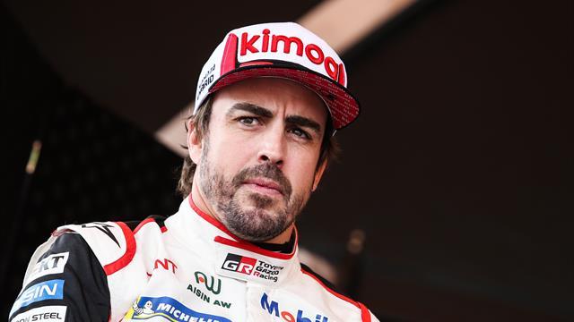Alonso sur le Dakar avec Toyota