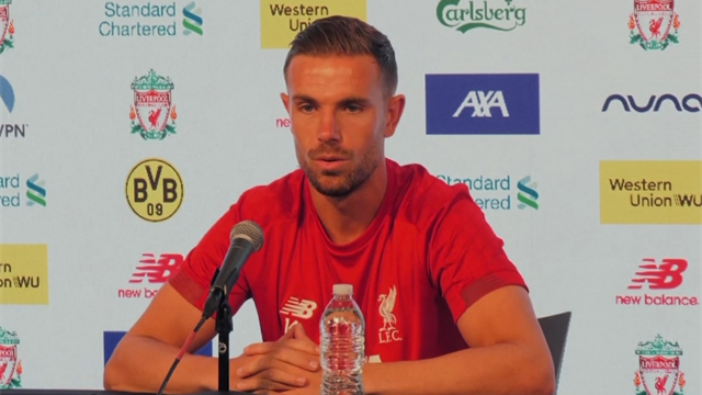 Jordan Henderson: We want more trophies