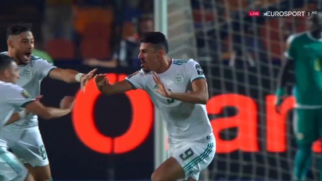 Copa África 2019: El surrealista y tempranero gol de Argelia que abrió la gran final