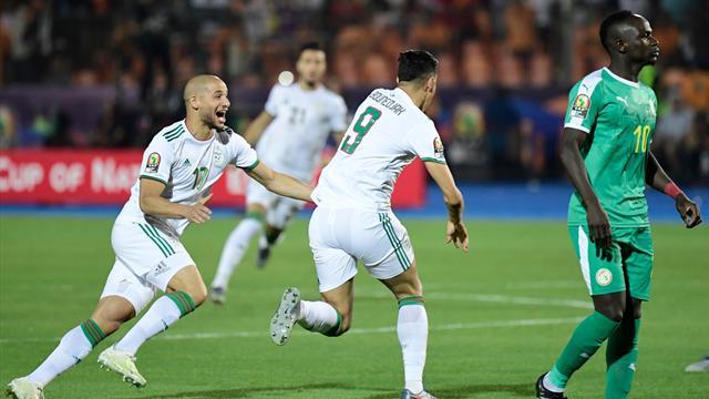 Frappe déviée, gardien figé et lobé : l'Algérie a douché le Sénégal en marquant dès la 2e minute