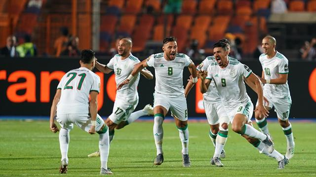WATCH - The crazy goal that won Algeria the Africa Cup of Nations