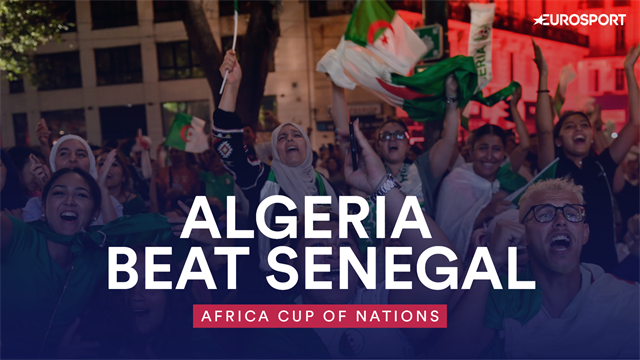 WATCH - The moment Algeria were confirmed as champions