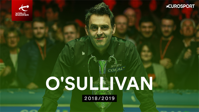 The best (and worst) of Ronnie O'Sullivan from the 2018-19 season