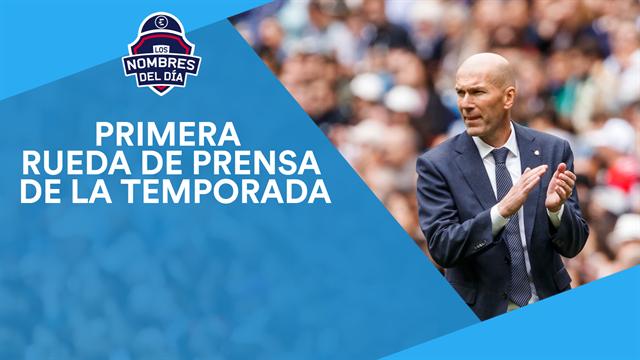 Zidane, Hazard, Asllani, Correa y Guardiola, los nombres del día